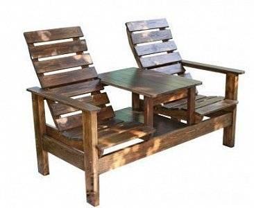 Скамейка деревянная «Лигнум»