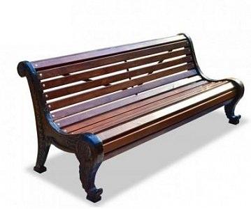 Скамейка чугунная «Родник»