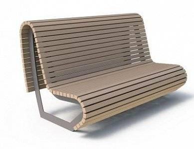 Скамейка «Парабола»